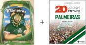 Kit Palmeiras 20 Jogos Eternos do Palmeiras + Coleção Mundo do Futebol Palmeiras Ligue os Pontos Acompanha Mochila