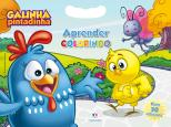 Galinha Pintadinha - Aprender colorindo: Com 50 adesivos