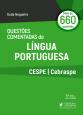 Questões Comentadas de Língua Portuguesa CESP