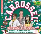 Carrossel: bandeiras estaduais