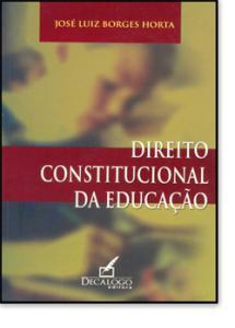 DIREITO CONSTITUCIONAL DA EDUCACAO