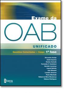 EXAME DA OAB UNIFICADO CESPE 1¦ FASE