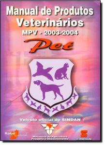 Manual de Produtos Veteriários, Pet , Mpv- 2003-2004