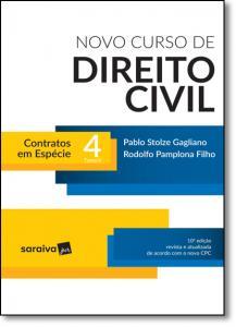 Novo Curso de Direito Civil: Contratos Em Espécie - Vol.4 - Tomo 2