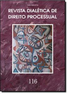 REVISTA DIALETICA DE DTO PROCESSUAL VOL.116