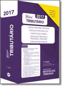 Rt Mini Código 2017: Código Tributário Nacional, Código de Processo Civil, Contituição Federal